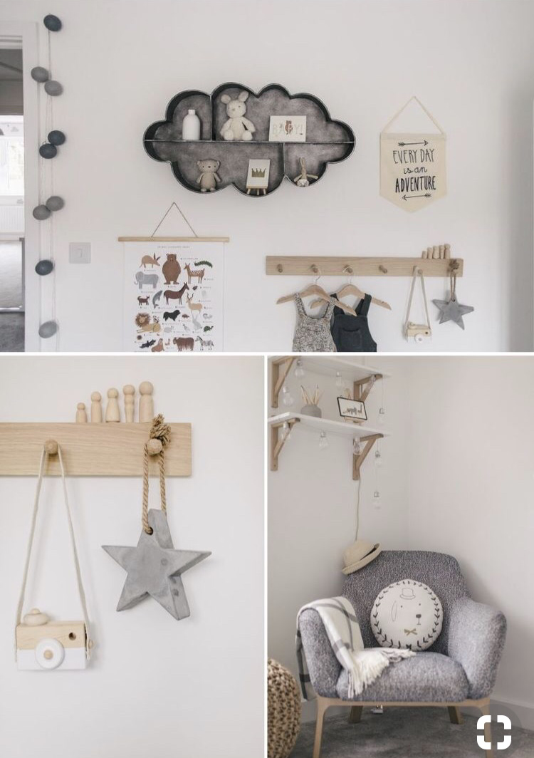 Rock my family grey nursery